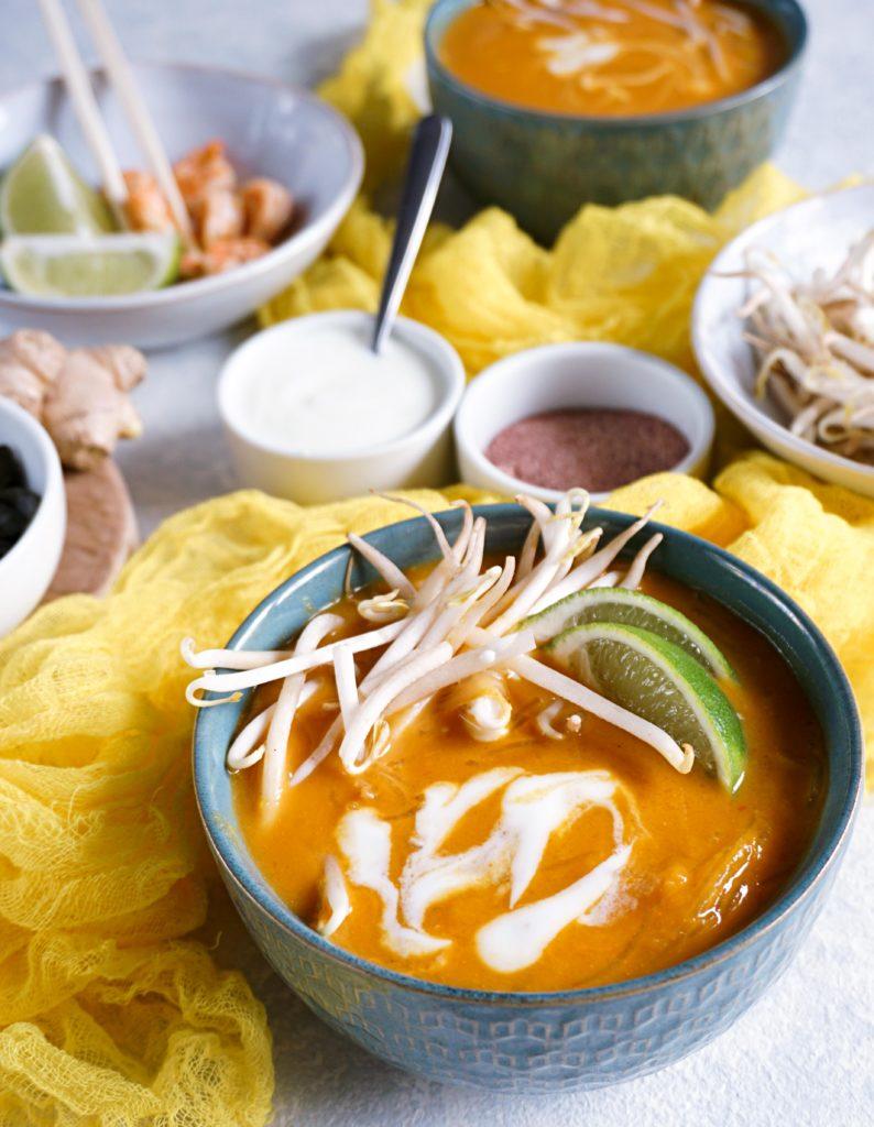 Tajska zupa dyniowa