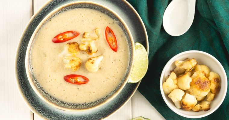 Tajska zupa krem z kalafiora