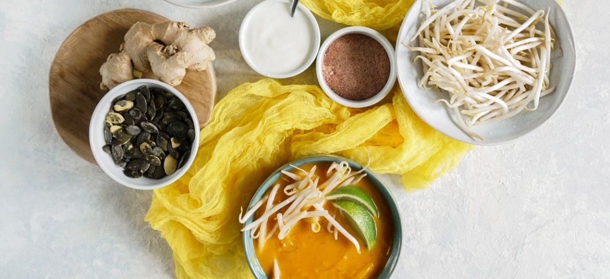 Zupa z dyni azjatycka