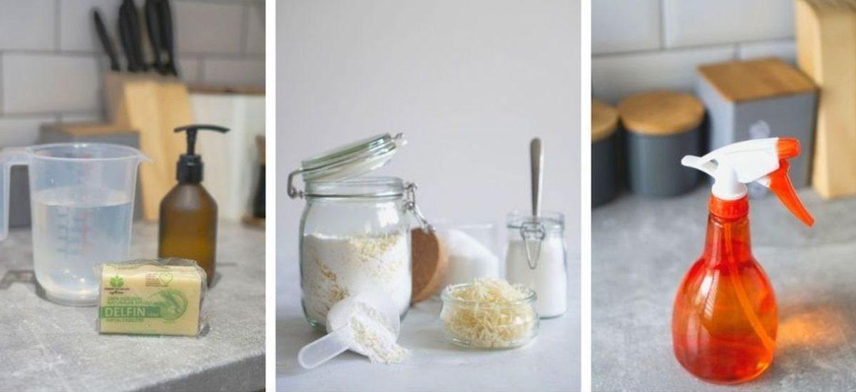 5 przepisów na domowe środki czystości