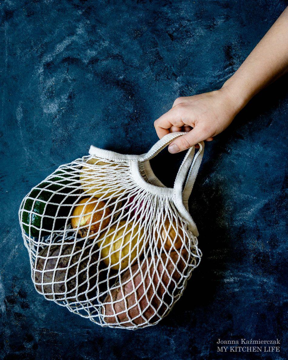 Siatki na warzywa zero waste