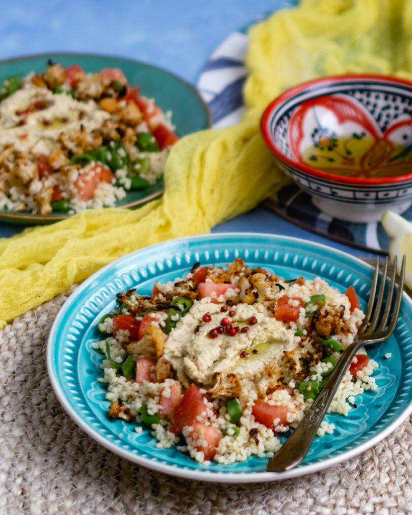 Hummus i tabbouleh