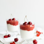 Jogurt z poziomkami