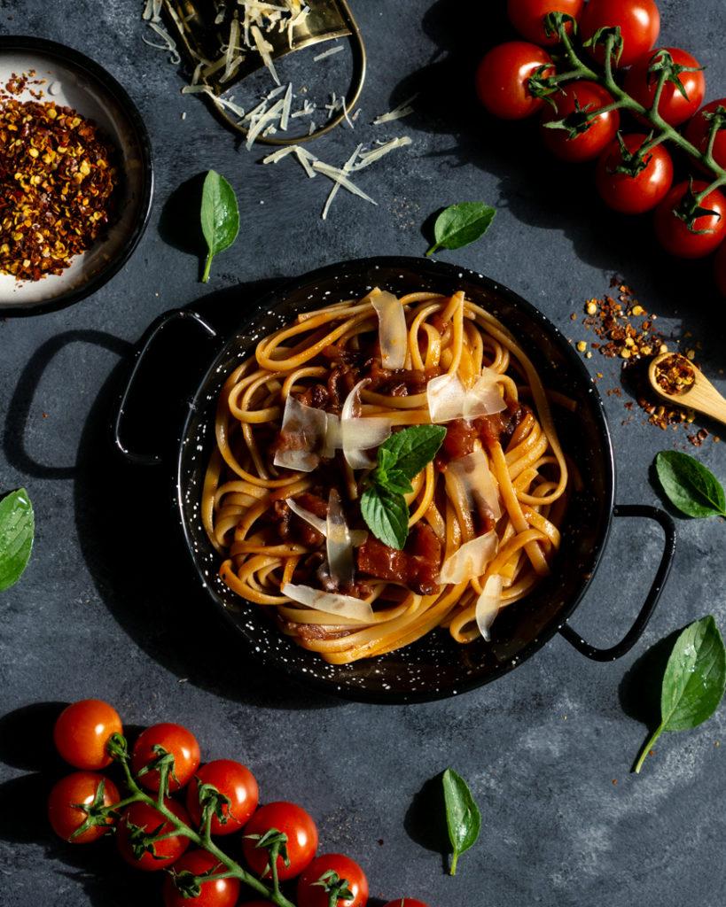 Sos do spaghetti na winie