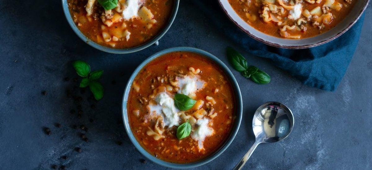 Zupa lasagne