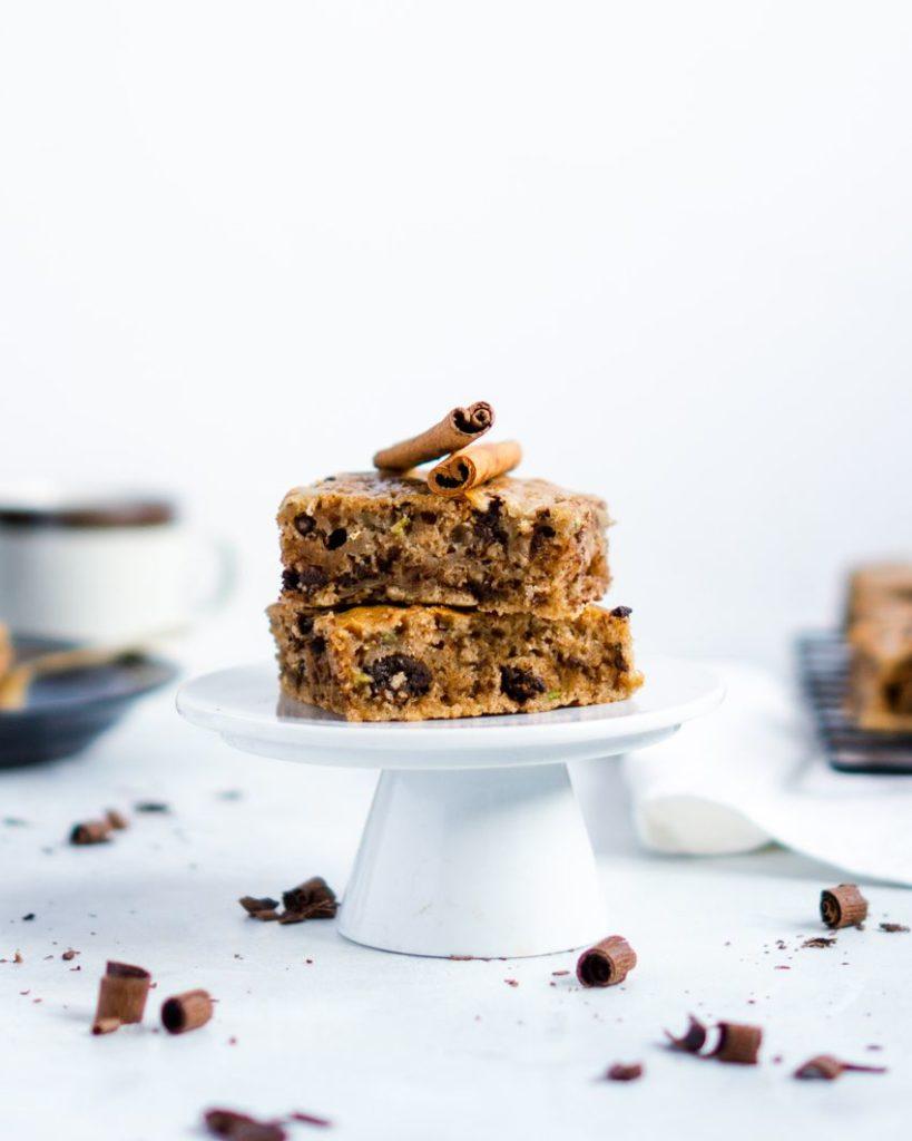 Cukiniowe ciasteczka