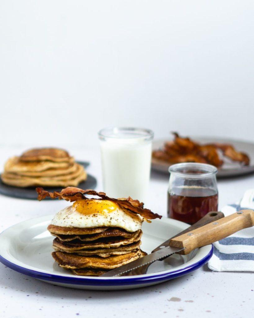 Pancake z jajkiem