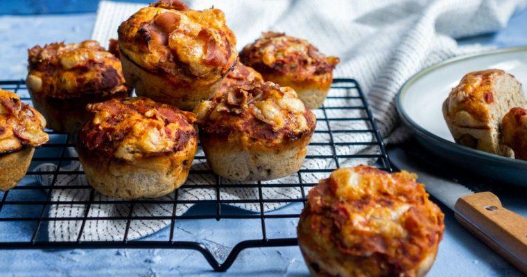 Muffinki pizzowe