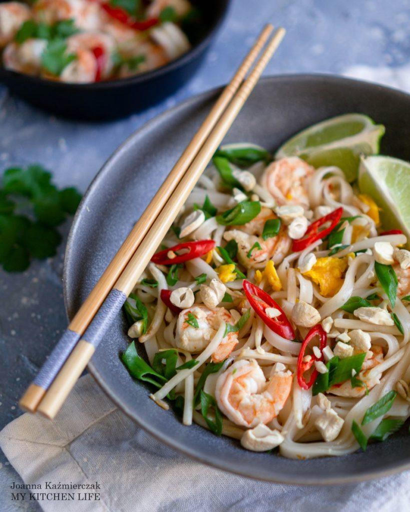 Tajski makaron pad thai