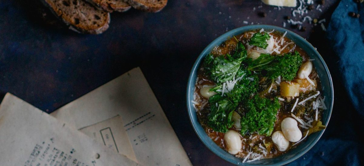 Toskańska zupa fasolowa Ribollita