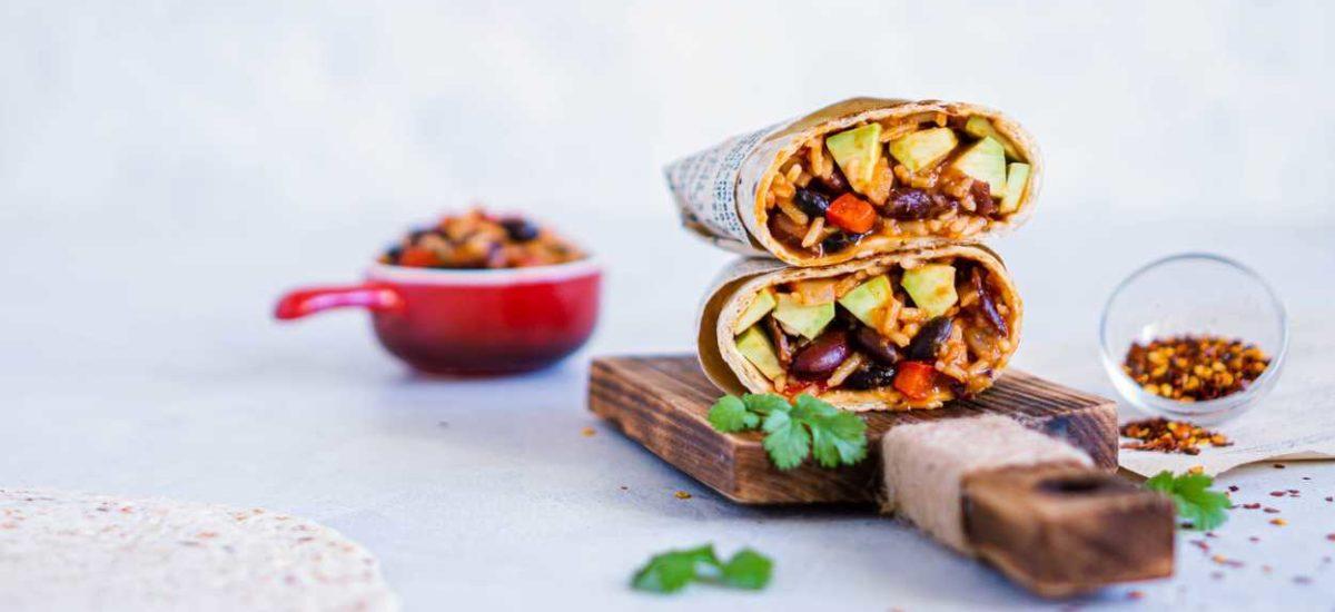 Burrito wegetariańskie