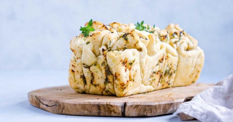 Chlebek czosnkowo-ziołowy