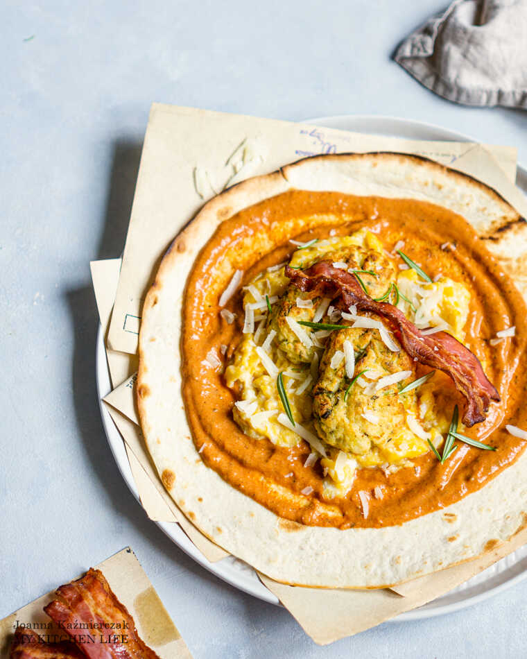 Tortilla śniadaniowa